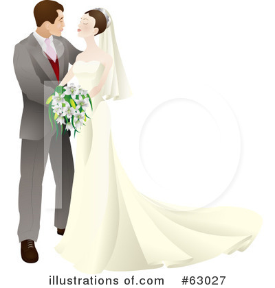 Royalty-Free (RF) Wedding Clipart Illustration by AtStockIllustration - Stock Sample #63027