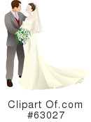 Royalty-Free (RF) wedding Clipart Illustration #63027
