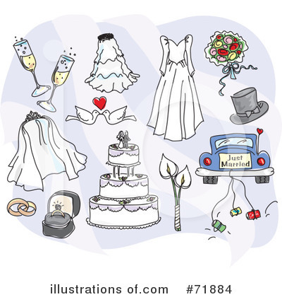 Wedding Car Clipart #71884 by inkgraphics