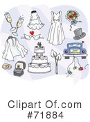 Wedding Clipart #71884 by inkgraphics