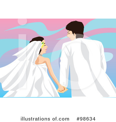 Wedding Couple Clipart #98634 by mayawizard101