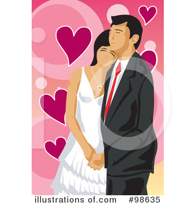 Wedding Couple Clipart #98635 by mayawizard101