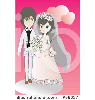 Wedding Couple Clipart #98637 by mayawizard101