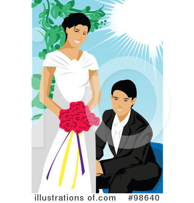 Wedding Couple Clipart #98640 by mayawizard101