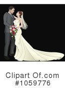 Wedding Couple Clipart #1059776 by AtStockIllustration