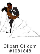 Wedding Couple Clipart #1081848 by Pams Clipart