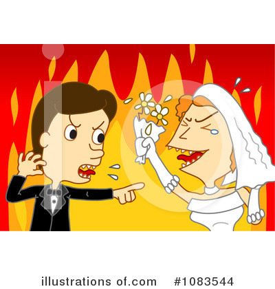 Wedding Couple Clipart #1083544 by mayawizard101