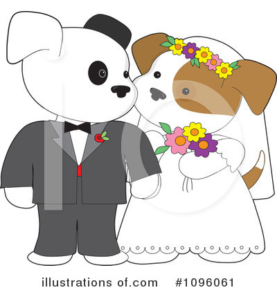Wedding Clipart #1096061 by Maria Bell
