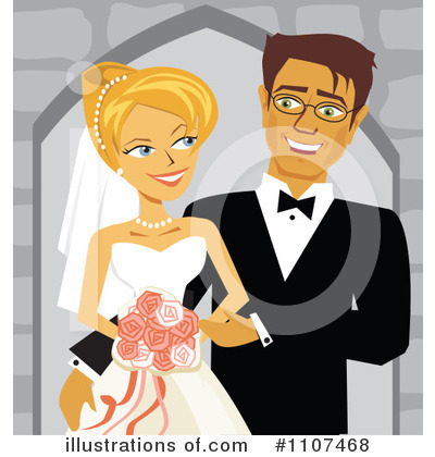 Bride Clipart #1107468 by Amanda Kate