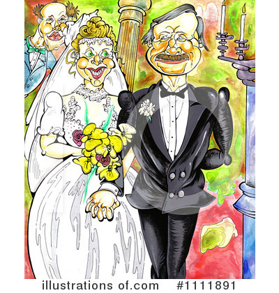 Wedding Couple Clipart #1111891 by Prawny