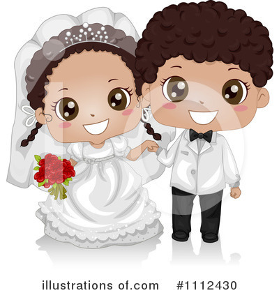 Bride Clipart #1112430 by BNP Design Studio