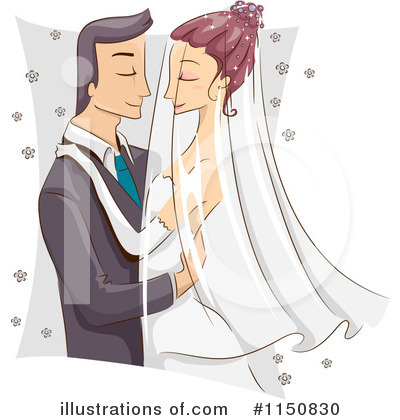 Bride Clipart #1150830 by BNP Design Studio