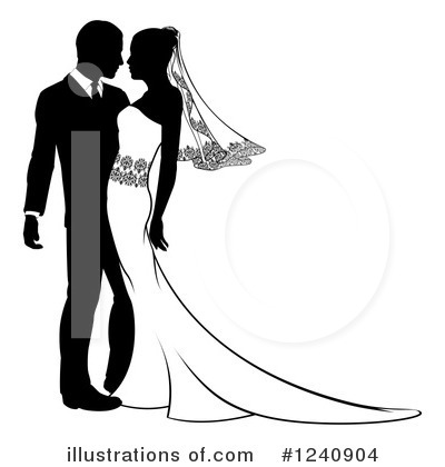 Couple Clipart #1240904 by AtStockIllustration