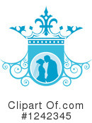 Wedding Couple Clipart #1242345