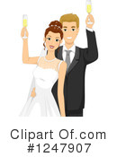 Wedding Couple Clipart #1247907