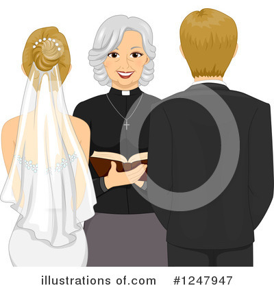 Bride Clipart #1247947 by BNP Design Studio