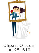 Wedding Couple Clipart #1251610 by BNP Design Studio