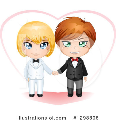 Gay Couple Clipart #1298806 by Liron Peer
