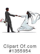 Wedding Couple Clipart #1355954