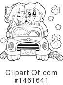 Wedding Couple Clipart #1461641 by visekart