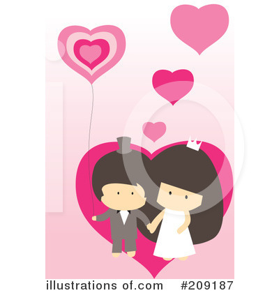 Wedding Couple Clipart #209187 by mayawizard101