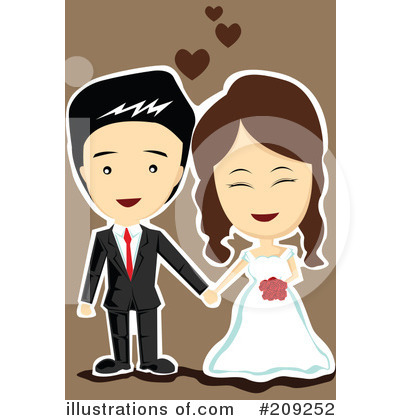 Wedding Couple Clipart #209252 by mayawizard101