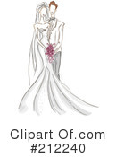 Wedding Couple Clipart #212240 by BNP Design Studio