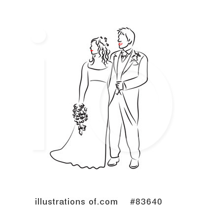 Wedding Couple Clipart #83640 by Prawny