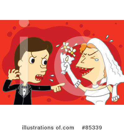 Wedding Couple Clipart #85339 by mayawizard101