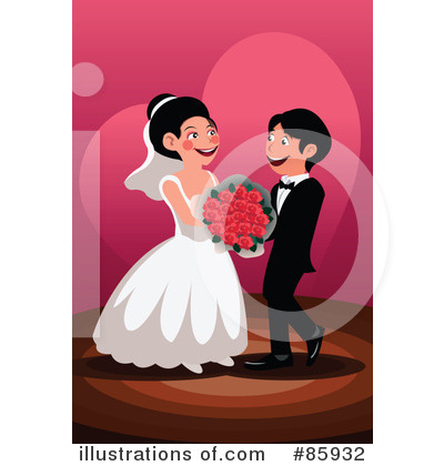 Wedding Couple Clipart #85932 by mayawizard101
