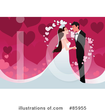 Wedding Couple Clipart #85955 by mayawizard101