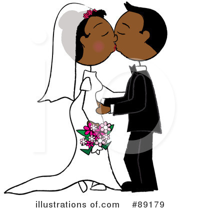 Wedding Couple Clipart #89179 by Pams Clipart