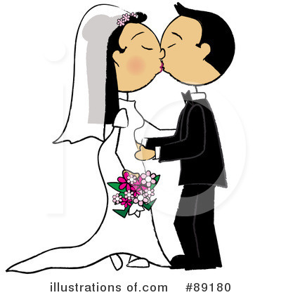 Wedding Couple Clipart #89180 by Pams Clipart