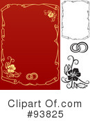 Royalty-Free (RF) Wedding Design Elements Clipart Illustration #93825