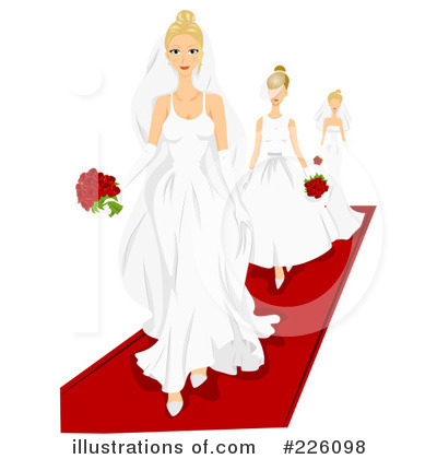 Dress Designs on Wedding Dress Clipart  226098 By Bnp Design Studio   Royalty Free  Rf
