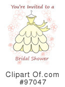 Wedding Dress Clipart #97047
