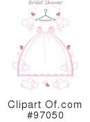 Wedding Dress Clipart #97050