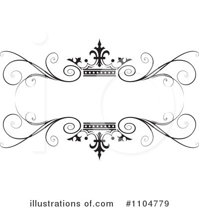 Royalty-Free (RF) Wedding Frame Clipart Illustration #1104779 by Lal