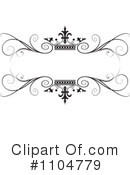 Royalty-Free (RF) wedding frame Clipart Illustration #1104779
