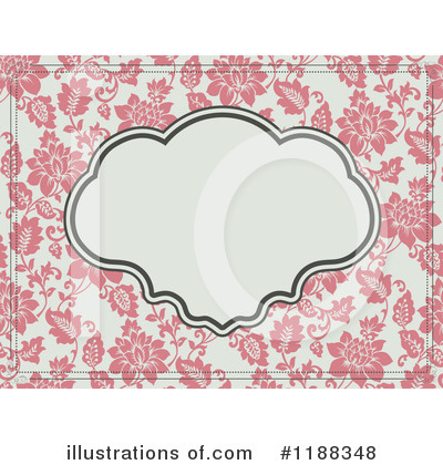 Floral Invite Clipart #1188348 by BestVector