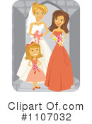Royalty-Free (RF) Wedding Party Clipart Illustration #1107032