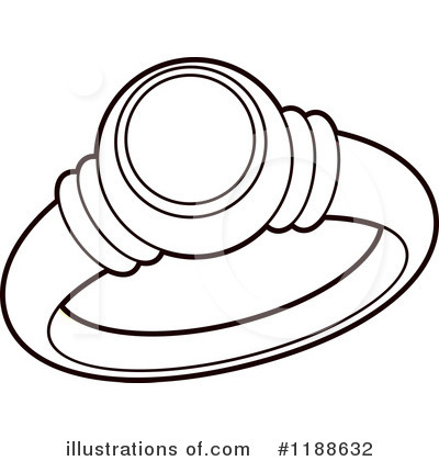 royalty free rf wedding ring clipart illustration by lal perera stock sample - Wedding Ring Clipart