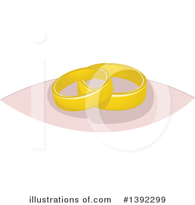 Wedding Ring Clipart #1392299 by BNP Design Studio