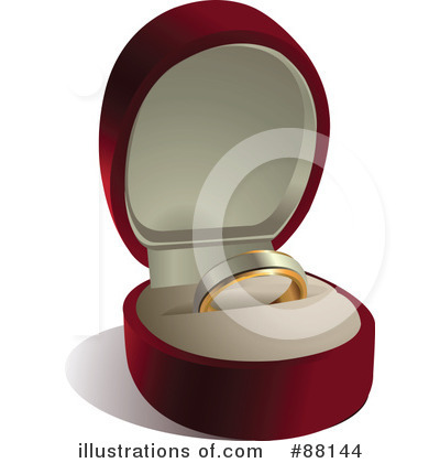 Wedding Rings Clipart #88144 by Pushkin