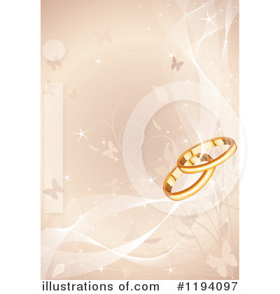 Wedding Rings Clipart #1194097 by Pushkin