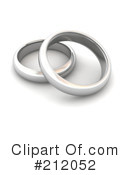 Wedding Rings Clipart #212052 by Jiri Moucka