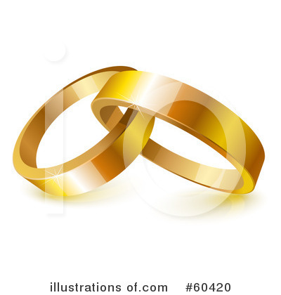 Wedding Rings Clipart #60420 by Oligo