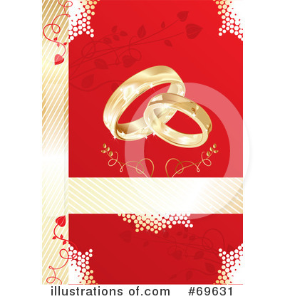 Wedding Rings Clipart #69631 by MilsiArt