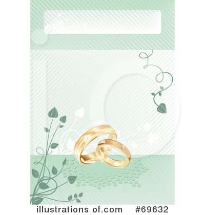 Wedding Rings Clipart #69632 by MilsiArt