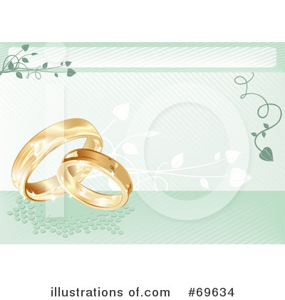 Wedding Rings Clipart #69634 by MilsiArt